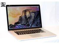 "Apple Macbook Pro Retina 15.4"" 2.3Ghz i7 Quad Core 8gb 251 SSD Logic Pro Final Cut Pro Adobe Master"