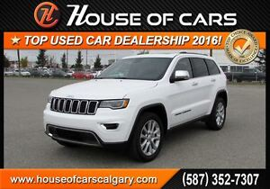 2017 Jeep Grand Cherokee Limited T Leather, heated seats, heated