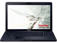 "15.6"" Toshiba Satellite Pro C660-1NR Laptop i3 380m @ 2.53GHz 4GB 320GB HDD WIN7"