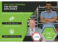 Train as a Network Engineer from Entry Level - CCENT - CCNA - CCNP