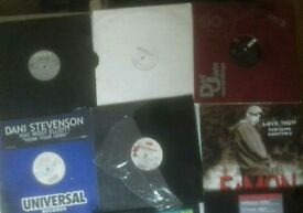 10 MIXED RNB 12 INCH VINYLS