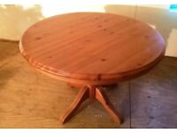 Circular Wooden Table - can deliver