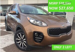 2017 Kia Sportage EX AWD SAVE $7000! ONLY 2 LEFT!