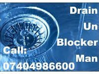 Blocked drain, toilet, bath, sink, shower, gutter? We unblock for cheap!
