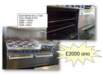 Commercial Oven Hob Range Avail now - Sensible Offers considered - Very Good Condition