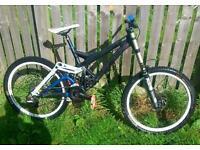 specialized demo 9 downhill bike (rare)