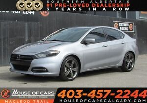 2014 Dodge Dart GT//LIMITED WITH LEATHER/ROOF/NAVIGATION