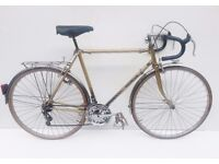 vintage motobecane 'Groleau' randoneur racing bicycle