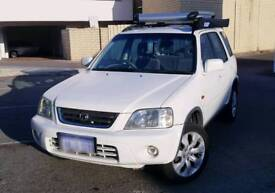 HONDA CR V 1999 with ROOF RACK + AWNING TENT