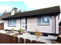Detached Spacious 2 Bedroom Bungalow On sale with Caledonia estate Agents Aviemore)