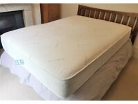 New Double 1000 Memory Pocket Luxury Cashmere Blend Covered Mattress
