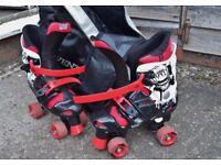 Osprey Quad Roller Skates with Carrying Bag