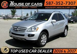 2006 Mercedes-Benz M-Class 3.5L W/APPEARANCE PKG 4WD / Sunroof /