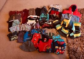 Large selection of baby boy's clothes 18-24mths