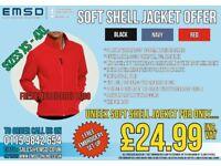 Workwear - Uneek Soft Shell Jacket Only £24.99