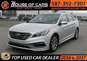 2016 Hyundai Sonata Sport Tech  / Navigator/ Sunroof /  Back up