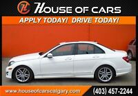 2014 Mercedes-Benz C-Class C300 4MATIC  w/ Leather+Sunroof+