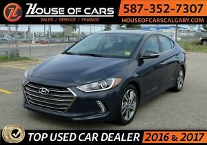 2017 Hyundai Elantra Limited / Navi / Leather / Sunroof /Back up