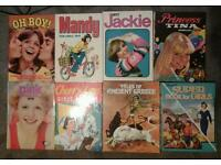 8 collectable Annuals various dates £3 each