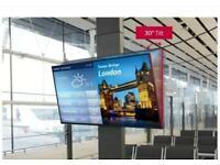 """LG 55"""" 4K 24/7 DIGITAL SIGNAGE BRAND NEW 50K HOURS TV RRP £1200"""