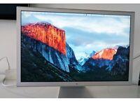 "Apple Cinema A1083 30"" Widescreen LCD Monitor + new Apple Mini DisplayPort to DVI Adapter"
