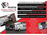 Carbon Clean Full Mobile Service For All Northern Ireland(Book Now And Get Full Car Diagnostic Free)