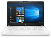 HP NOTEBOOK 14-BW007NA - AS NEW COND. SNOW WHITE