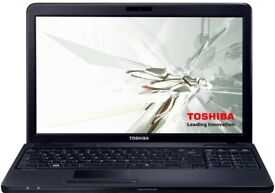 Toshiba Satellite Pro Intel Celeron 4GB 320GB WIFI Windows 7 Pro limited