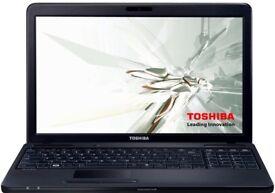 Toshiba Satellite Pro Intel Celeron 4GB 320GB WIFI Windows 7 Pro limited