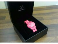 Pink Toy Watch Brand New With Box