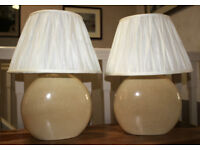 Pair of Table / Bedside Lamps