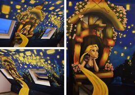 Artist ( Interior design mural painting,Traditional painting, Tattoo designs,Street art, Graffiti)