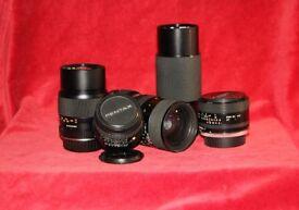 35 mm Film Camera Lenses for sale