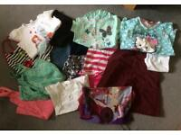 Bundle of girl's clothes age 7-8 years