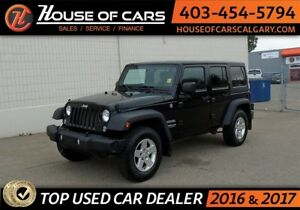 2014 Jeep Wrangler Unlimited Sport 4 door hard top
