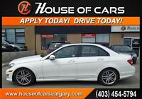 2014 Mercedes-Benz C-Class C300 4MATIC  w/ Leather+Sunroof