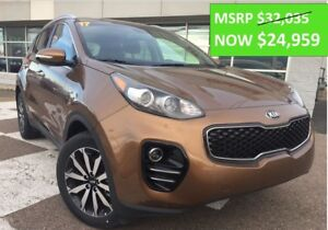 2017 Kia Sportage EX OVER $4000 off!! Android Auto, BackUp Cam -