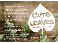 Cuts & Leaves Garden Services - Stockport & East Cheshire