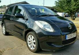 TOYOTA YARIS 58 AUTOMATIC 75K MILES HPI CLEAR
