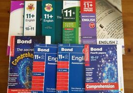 11 plus Bond, CGP, GL English Practice Papers or Books