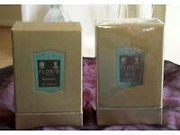 Floris 100ml patchouli and mahon leather eau de parfum new and sealed