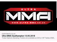 Ultra MMA tickets £20 (collection only)