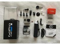GoPro Hero 4 Silver + 32GB & Lot of Accessories