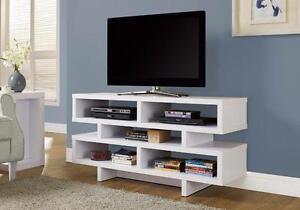 MEUBEL.CA   $199 - WHITE TV CONSOLE - Free Delivery