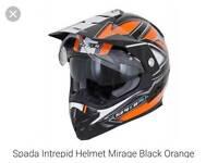 Spada intrepid helmet large brand new