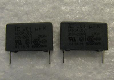 .01uf 275vac 275v Illinois Capacitor X2 Safety Polypropylene Capacitors 25 Pcs