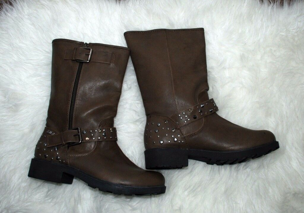 Killah by Miss Sixty Rock Boots with Studs size UK 7 EUR 40 new