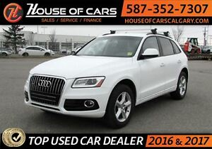 2016 Audi Q5 2.0T Komfort (Tiptronic) / Leather Seats / Bluetoo