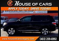 2012 Toyota Highlander V6 Limited AWD  WWW.HOUSEOFCARSCALGARY.CO