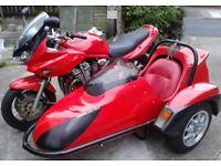 FOR 1 WEEK ONLY £2,500 - X Reg Suzuki GSF600 SY M/C Combination - 8 Months MOT
